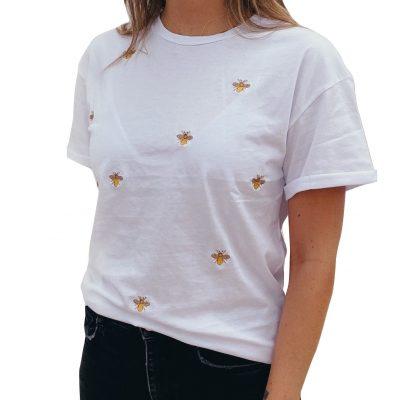 C21045-1 (1) abejas blanca