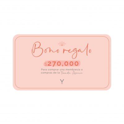Bono regalo 270.000
